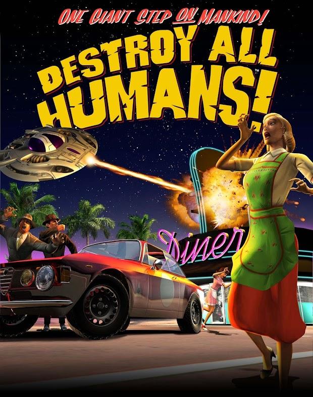 Destroy All Humans! Artwork
