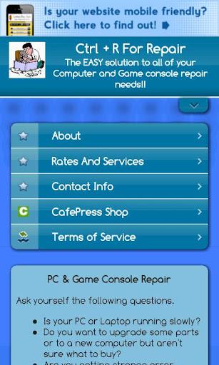 Ctrl+R For Repair App