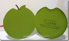 green apple inside