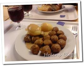 Köttbullar och potatis