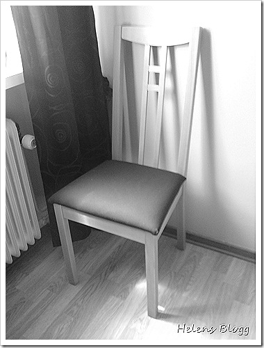 Ny monterad ikea stol