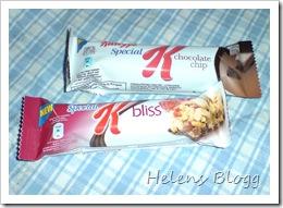 Kellogs Special snackbars