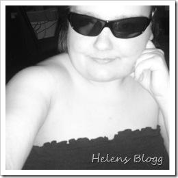 Muppen Helen i solglasögon