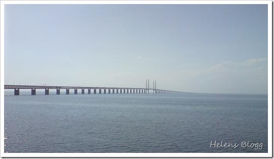 Mobilfoto av Öresundsbron