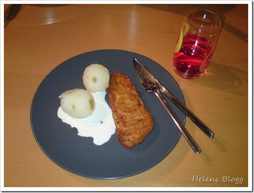 Findus spröda gourmetfilér och färsk potatis