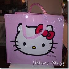 Stor Hello Kitty väska, 25 kronor