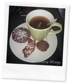 Mamma fikabröd och te