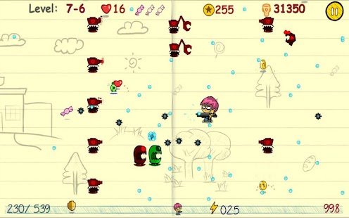 Doodle Adventure Shooting - screenshot