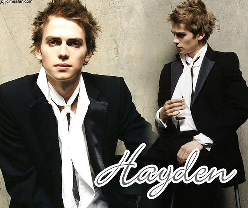 Hayden Christensen hairstyle
