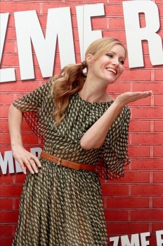 Leslie Mann French braids