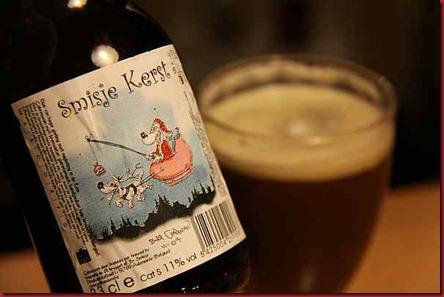 Xmas Beer 2010 Smisje Kerst label