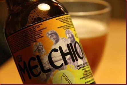 Xmas Beer 2010 Alvinne Melchior label 800