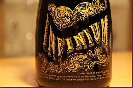 infinium bottle detail1