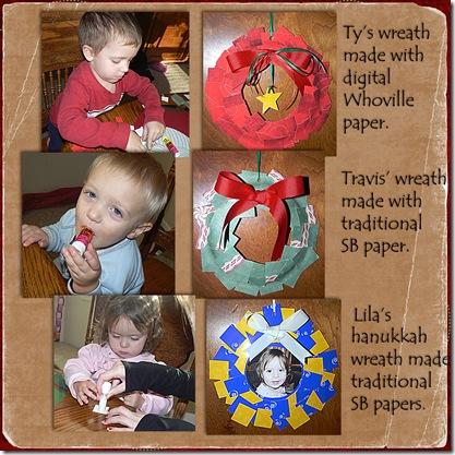 kids wreaths