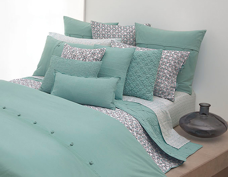 pureDKNY Pure Comfort Rainwater Bedding Collection by Donna Karan - the luxury bedding