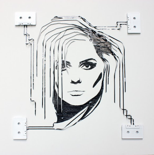 Stunning Artwork: Famous Personalities & Scenes Recreated from Tape & Paper