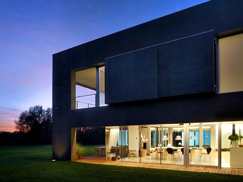 Minimalist House Design in Poland