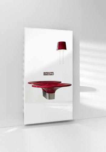 Modern Wash Basin Inspired by Ponton Chair