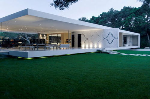Glamorous Glass Pavilion Residence in California