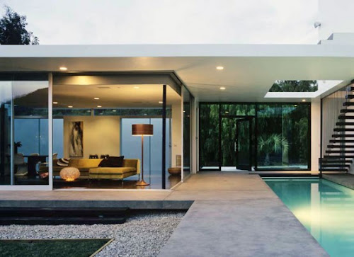 Modern Family Residence with Lap Pool