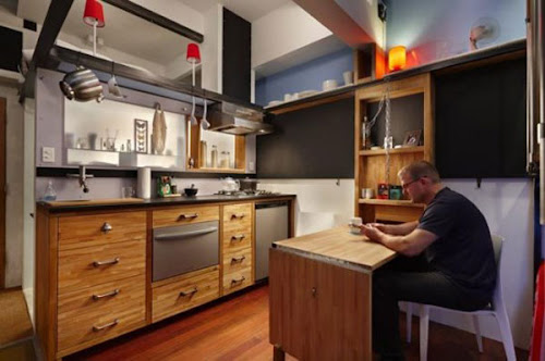 Extreme Small Space Optimization in a 16 Square Meter Apartment