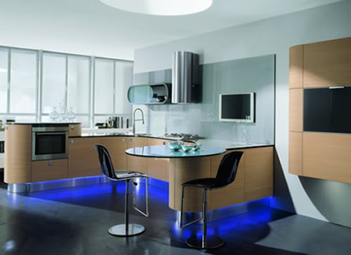 Round kitchens : new trend in modern kitchen designs