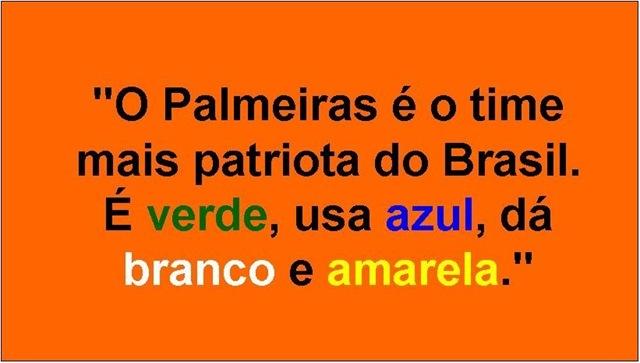 Palmeiras amarelou