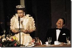 5 Rainha com Reagan