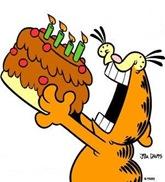 Garfield - Bolo