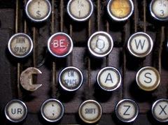 Teletypesetter keyboard