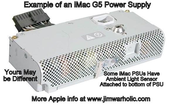Apple iMac G5 PSU Example