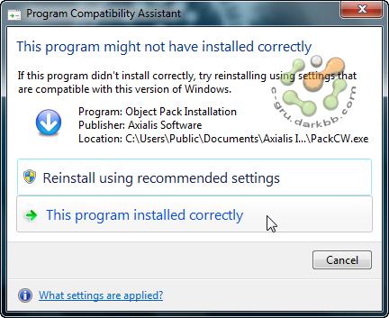 Program Compatibility Assistant ปิดซะอย่าให้มากวนใจ Pcadis01