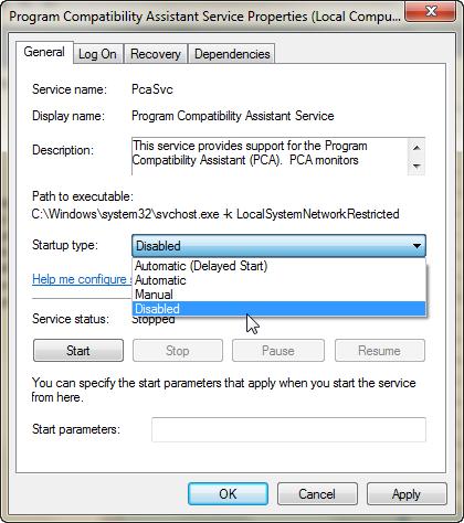 Program Compatibility Assistant ปิดซะอย่าให้มากวนใจ Pcad06