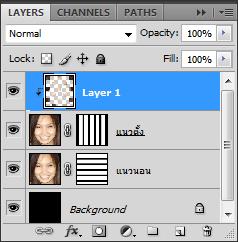 เทคนิคการทำภาพแบบ Interweaving Photo Strips [Photo Effect] JStrips19