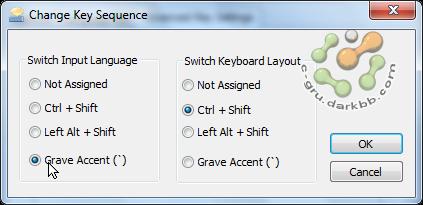 ปรับแต่งคีย์สลับภาษาหลังติดตั้ง Windows Ckb04