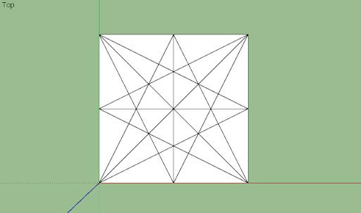 มหัศจรรย์รูปสี่เหลี่ยมกับ SketchUp Sq-04