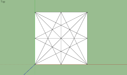 SketchUp - มหัศจรรย์รูปสี่เหลี่ยมกับ SketchUp Sq-04