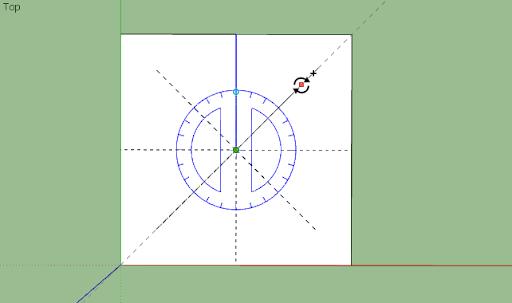 มหัศจรรย์รูปสี่เหลี่ยมกับ SketchUp Sq-07