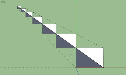 มหัศจรรย์รูปสี่เหลี่ยมกับ SketchUp Sq-16