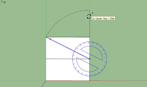 มหัศจรรย์รูปสี่เหลี่ยมกับ SketchUp Sq-19