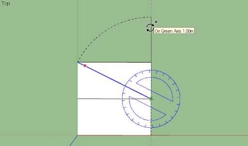 SketchUp - มหัศจรรย์รูปสี่เหลี่ยมกับ SketchUp Sq-19