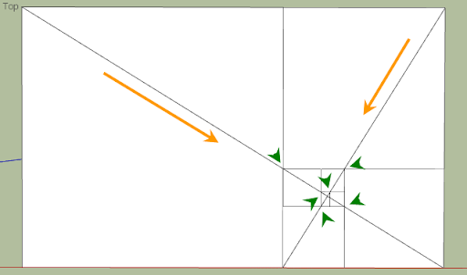 มหัศจรรย์รูปสี่เหลี่ยมกับ SketchUp Sq-42