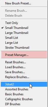 Photoshop - Adobe Photoshop ครับ Psbrushmenu