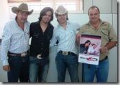 Sergio Almeida, Diego Torres e Tiago e Antonio Carlos Teodoro