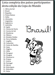 Lista de Paises da Copa[1]