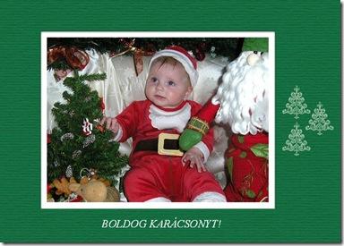 Boldog karácsonyt email