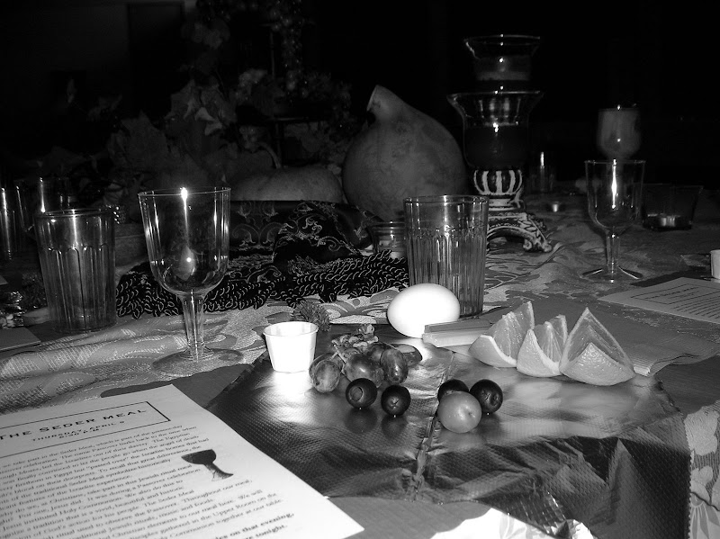 A Christian Family at a Passover Table