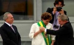 Dilma recebe a faixa-250