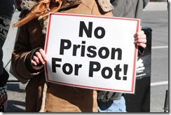 no prison for pot