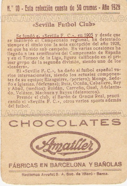 Cocolate 1929